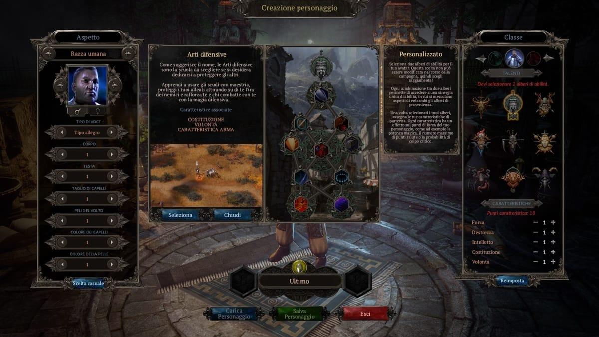 Arti difensive in Spellforce3
