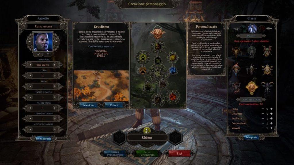 Classe Druidismo in Spellforce 3