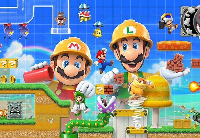 super mario maker 2 advertisement