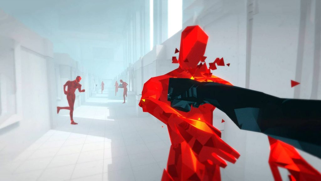 superhot vr pc gameeplay