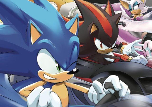 team sonic racing artwork