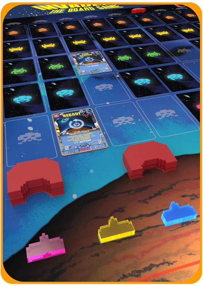space invaders gioco da tavolo