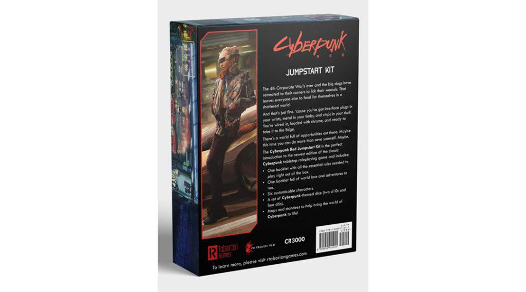 Il Jumpstart Kit di Cyberpunk Red