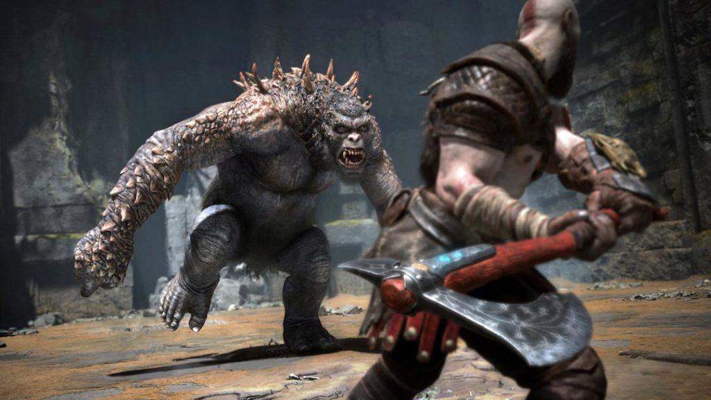 Uno degli Ogre di God of War 4 (2018)