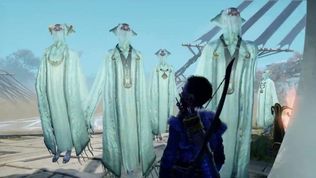 Gli Elfi della Luce di Alfheim in God of War 4 (2018)