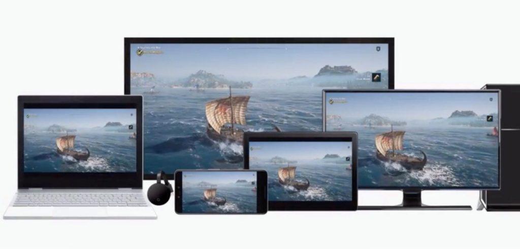 google stadia piattaforme pc televisore smartphone