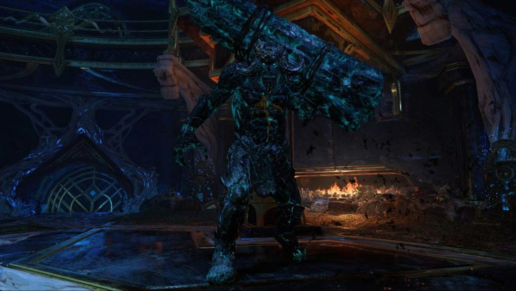 Grendel del Ghiaccio, uno dei troll guardiani in God of War 4