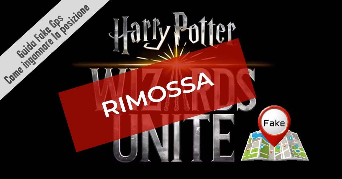 Harry Potter Wizards unite come usare Fake GPS per ingannare la posizione