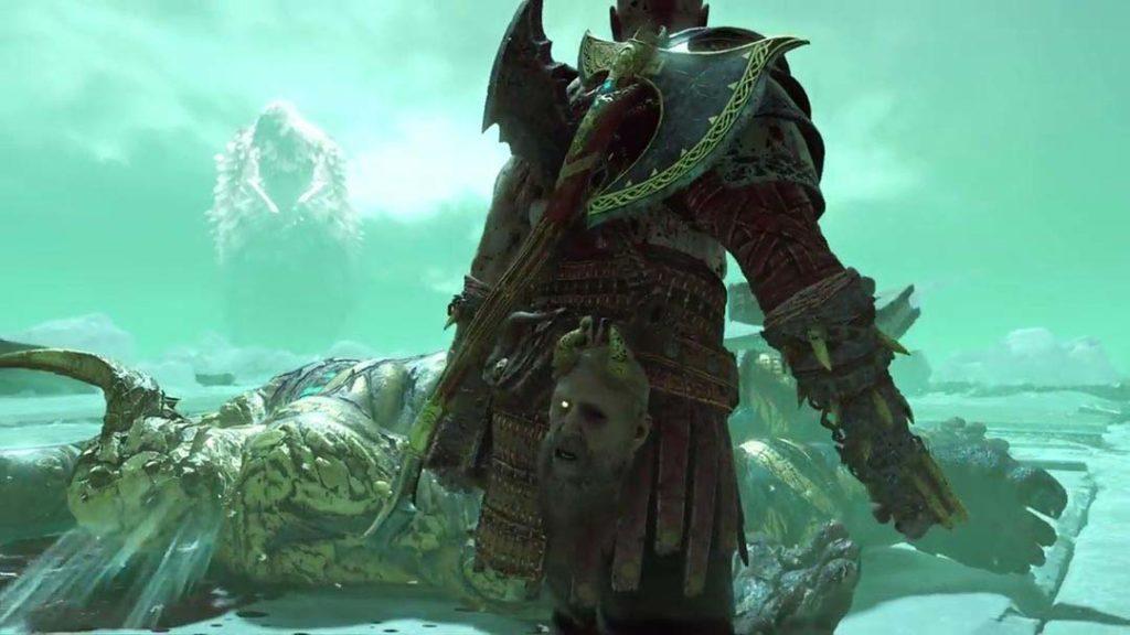 Hræsvelgr, l'uccello gigante di Helheim in God of War 4