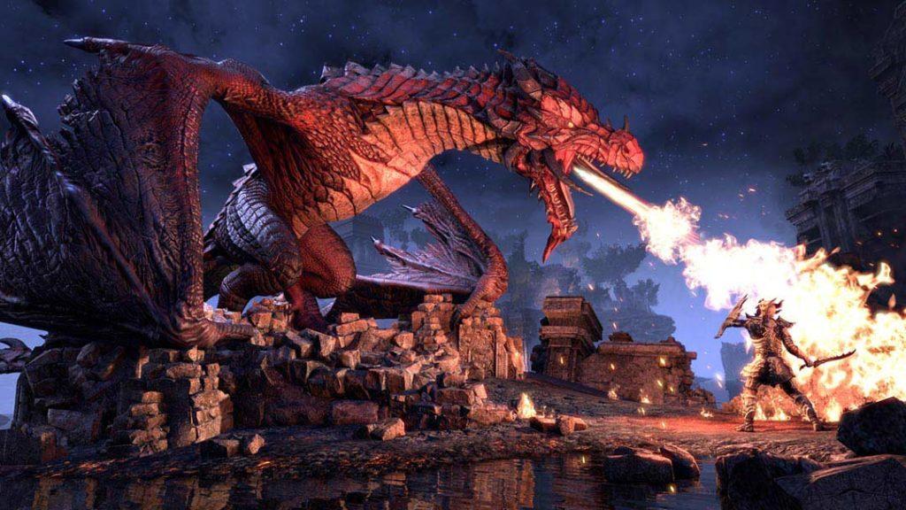 I draghi in The Elder Scrolls Online