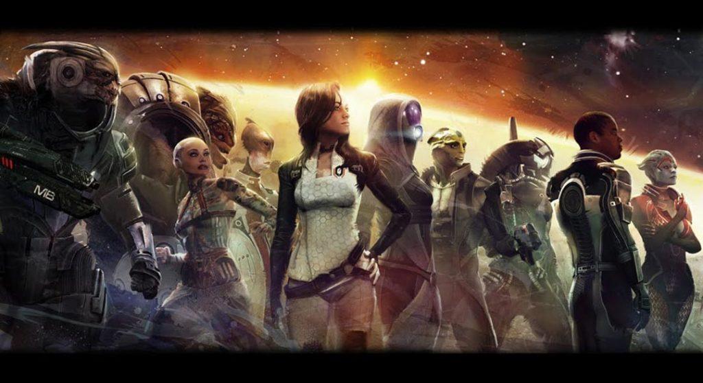 I personaggi della saga di Mass Effect