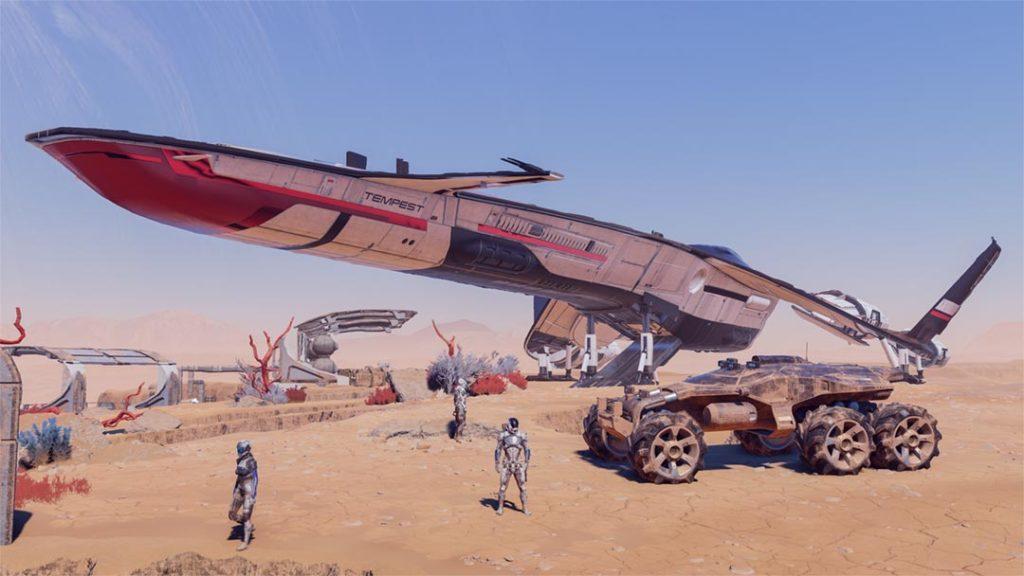 I veicoli di Mass Effect per D&D 5E