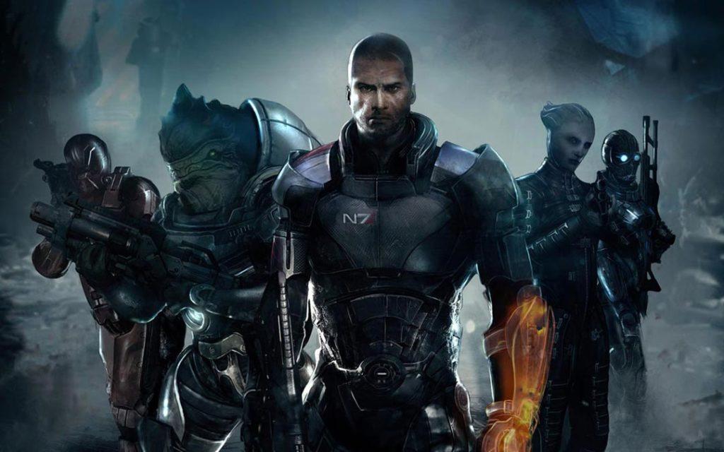 Il Comandante Shepard di Mass Effect