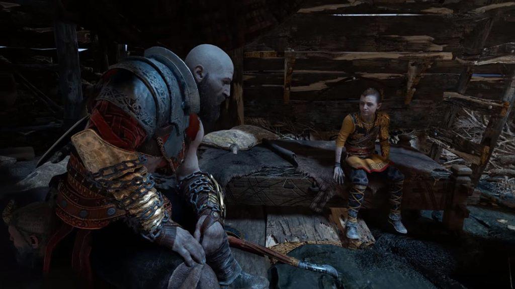 Il meritato riposo di Kratos, Atreus e Mimir nel finale di God of War 4