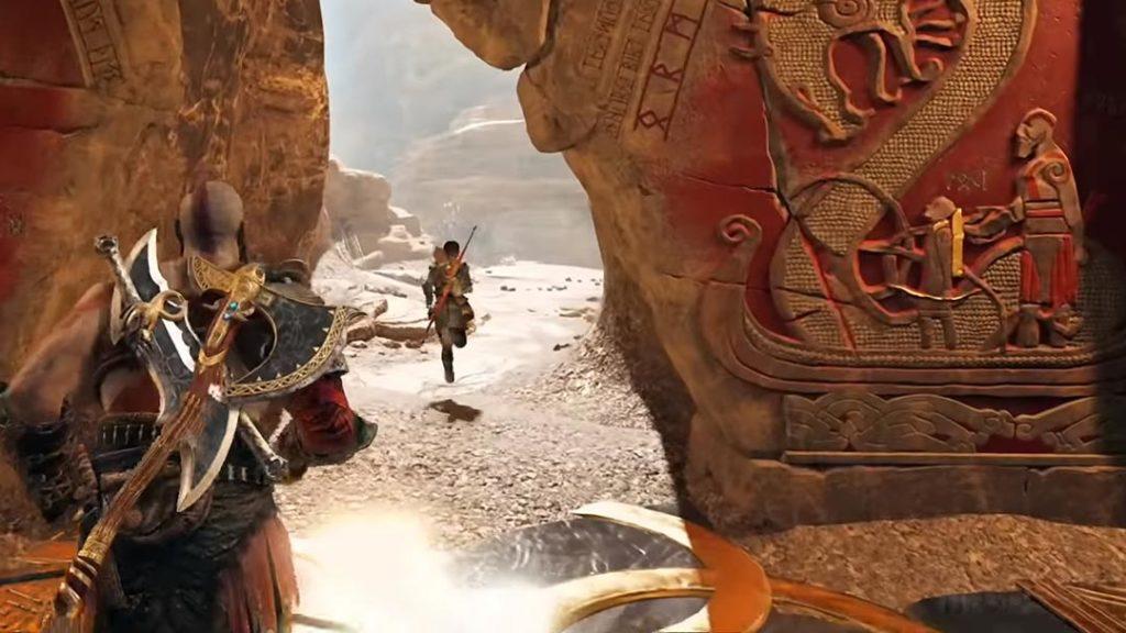 Il nome di Atreus - Loki nel murale di Jotunheim