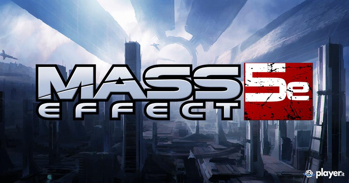 Il regolamento di Mass Effect per D&D 5E