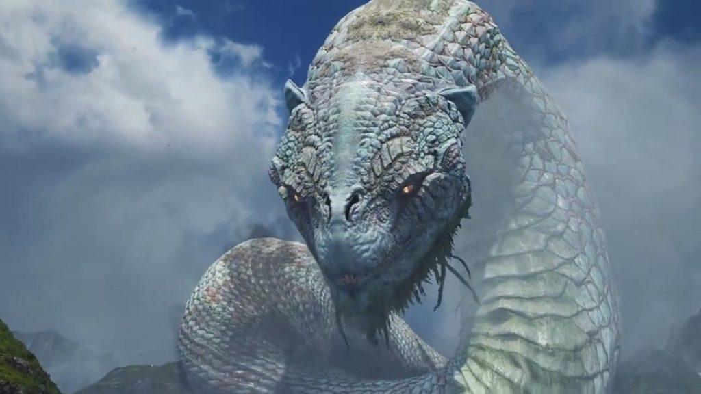 Jormungandr, il serpente di Midgardr in God of War (2018)