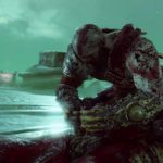 Kratos e il troll Máttugr Helson, a guardia del Ponte dei Dannati