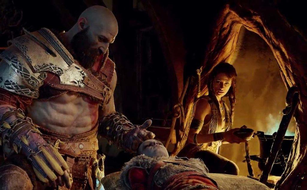 Kratos preoccupato per Atreus