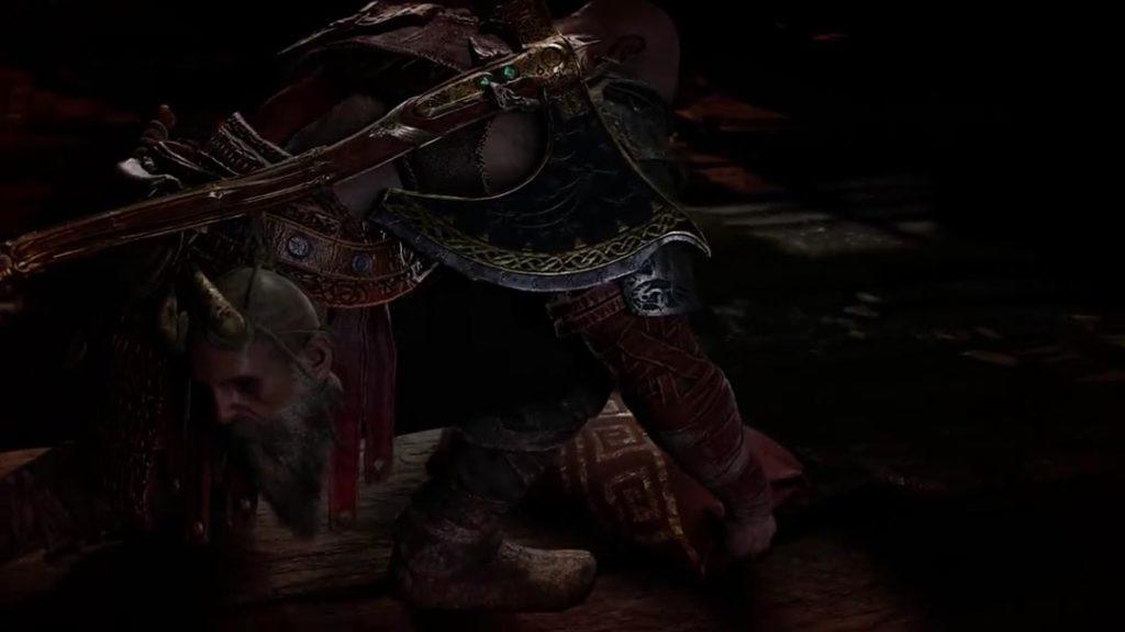 Kratos recupera le Lame del Caos