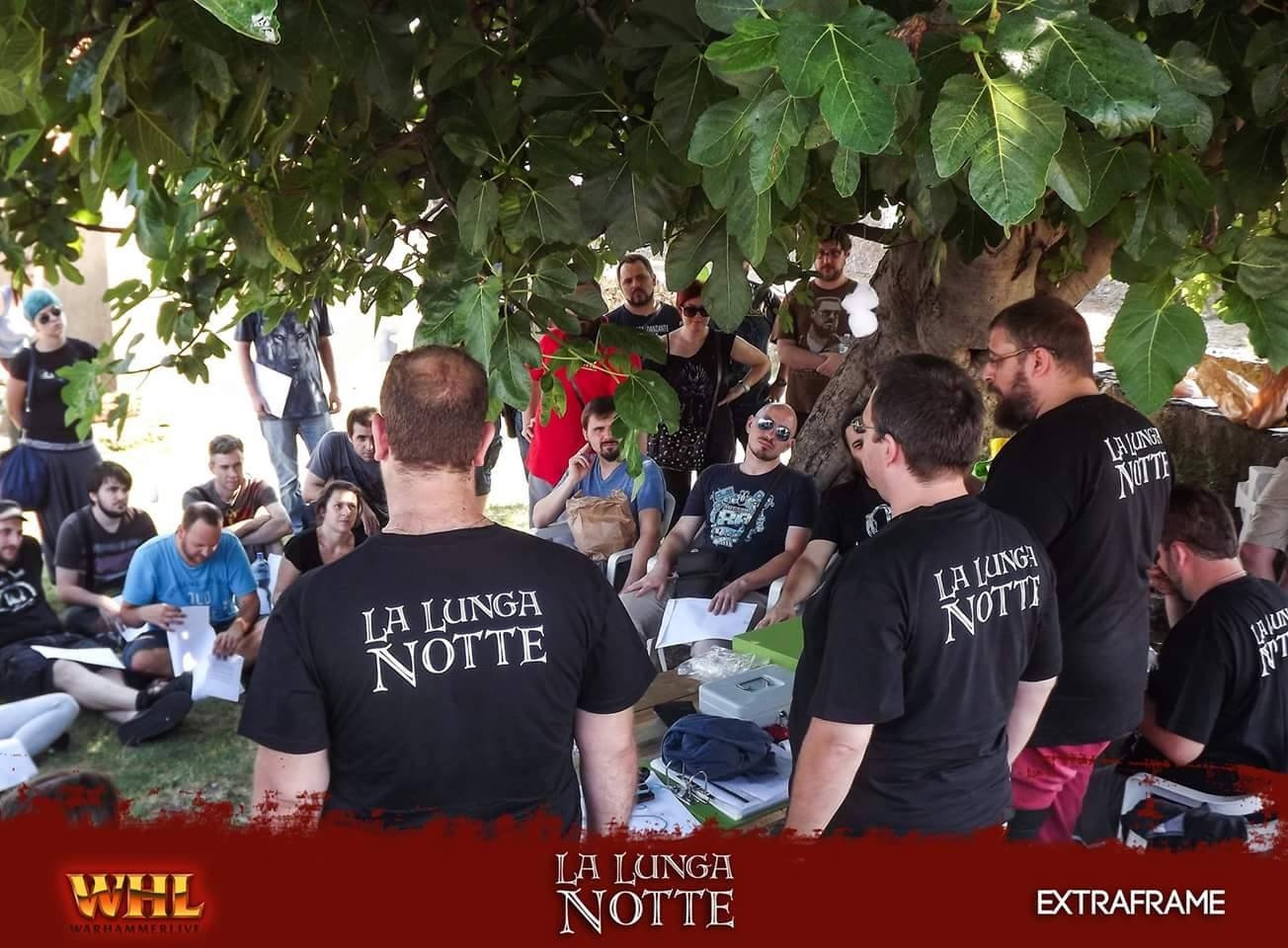 LARP A Night With... Simone Meconi - WarhammerLive - La Lunga Notte, WHLive