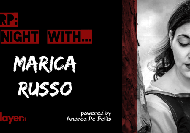 LARP a night with... Marica Russo - The Living Theater