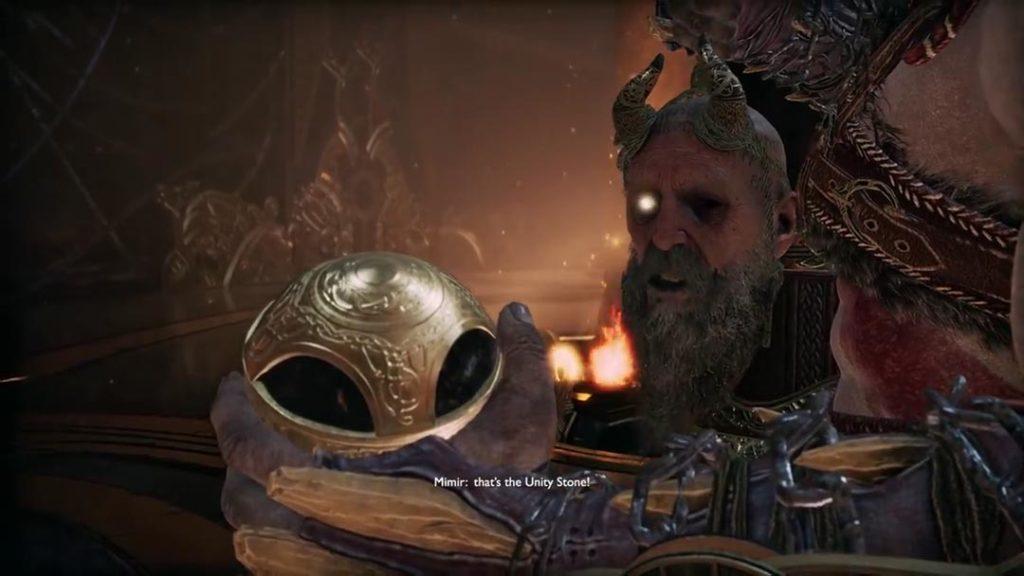 La Unity Stone di God of War 4