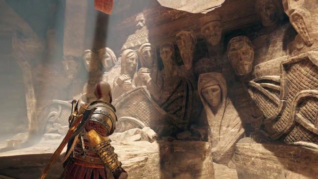 Le statue di Jotunheim ritraggono i giganti che fuggono dagli Aesir