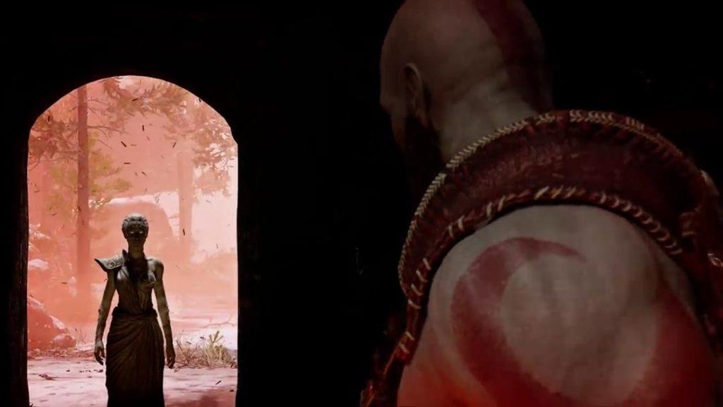 Le visioni di Atena in God of War 4
