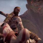 Lo scontro fra Kratos, Atreus, Baldur e Thamur