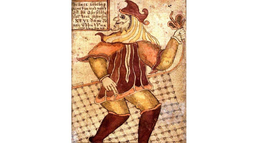 Loki, figlio di Laufey - un manoscritto islandese del XVIII secolo