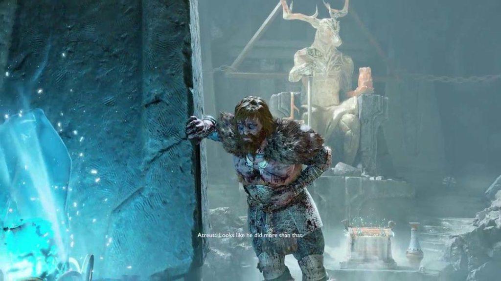 Modi, pestato da Thor a causa della morte di Magni