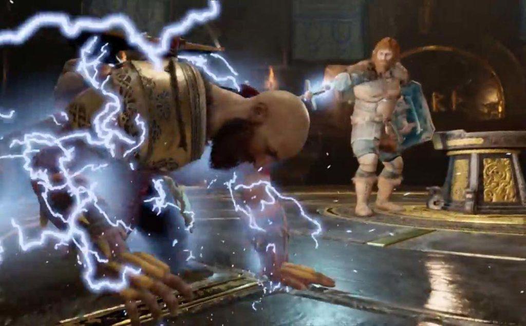 Modi tortura Kratos con i suoi fulmini