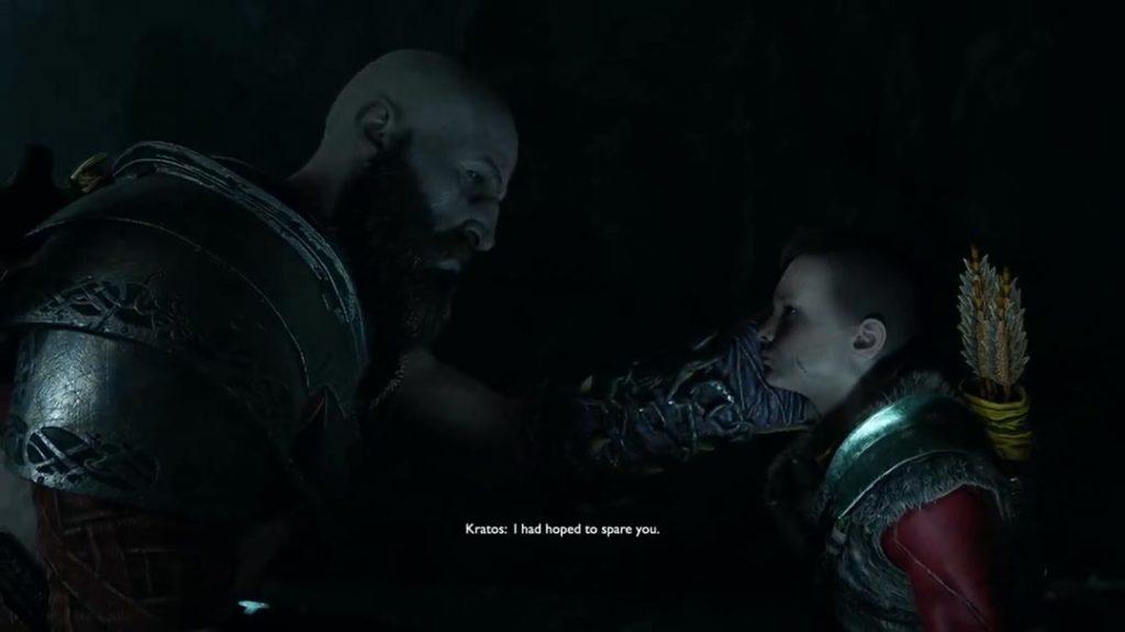 Momenti tra padre e figlio in God of War 4