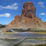 Il paesaggio realizzato dal software GauGan a partire dello schizzo