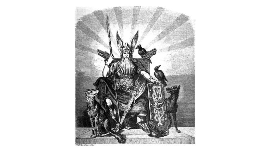 Odin, der Göttervater - Carl Emil Doepler