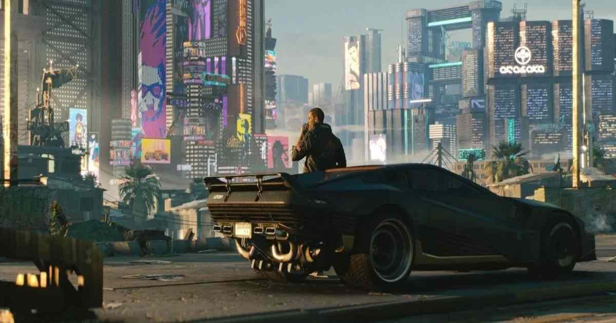 Screenshot dal trailer di Cyberpunk 2077