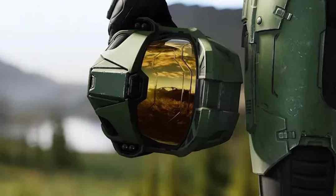 Screenshot dal trailer di annuncio di Halo Infinite