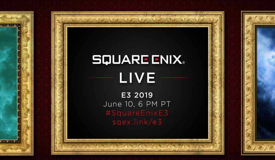 Locandina della conferenza Square Enix all'E3 2019