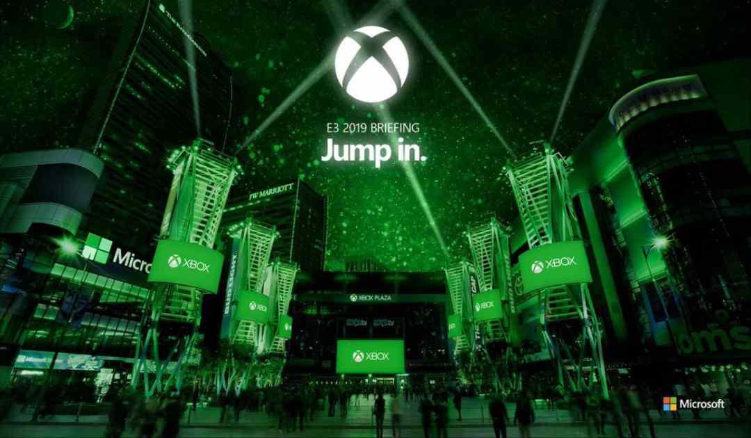 Pubblicità del briefing Xbox per l'E3 2019