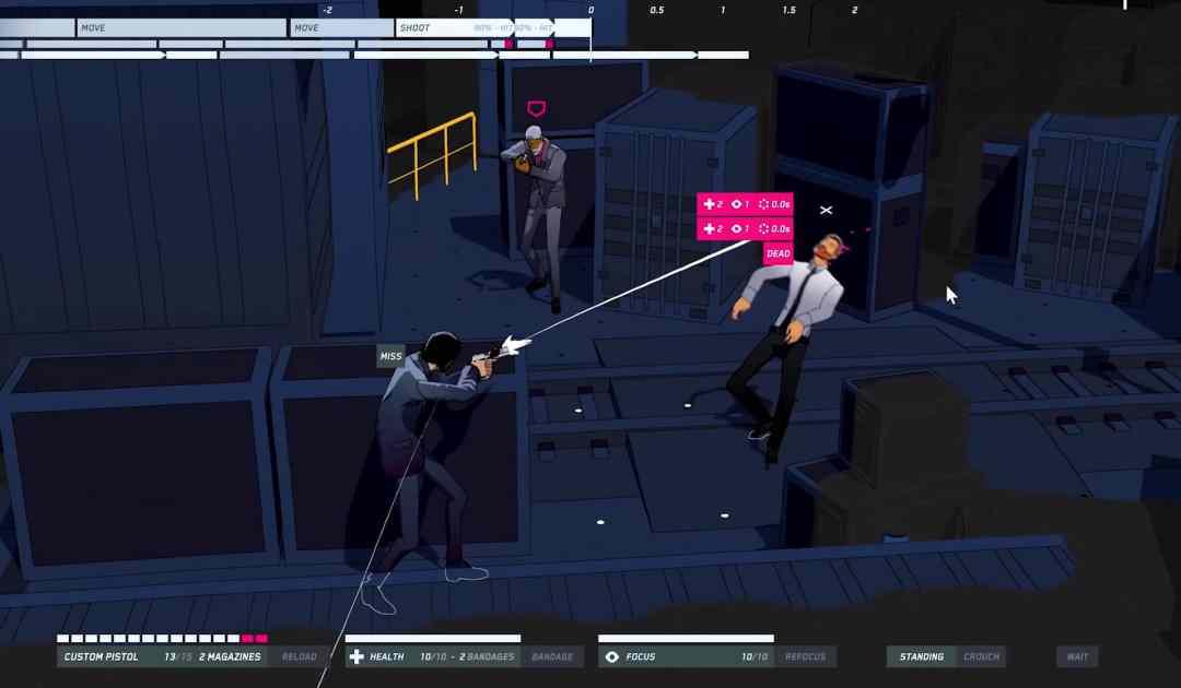Screenshot dal videogioco John Wick Hex