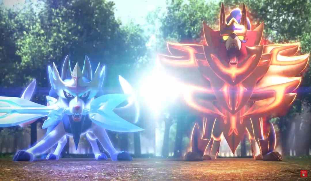 Zacian e Zamazenta, i due Pokémon Leggendari di Pokémon Spada&Scudo