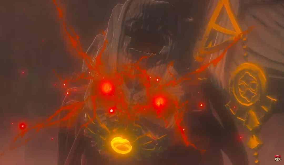 Screenshot dal trailer di annuncio di Breath of the Wild 2