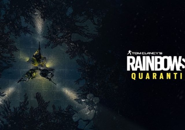 mostrato all'E3 rainbow six quarantine