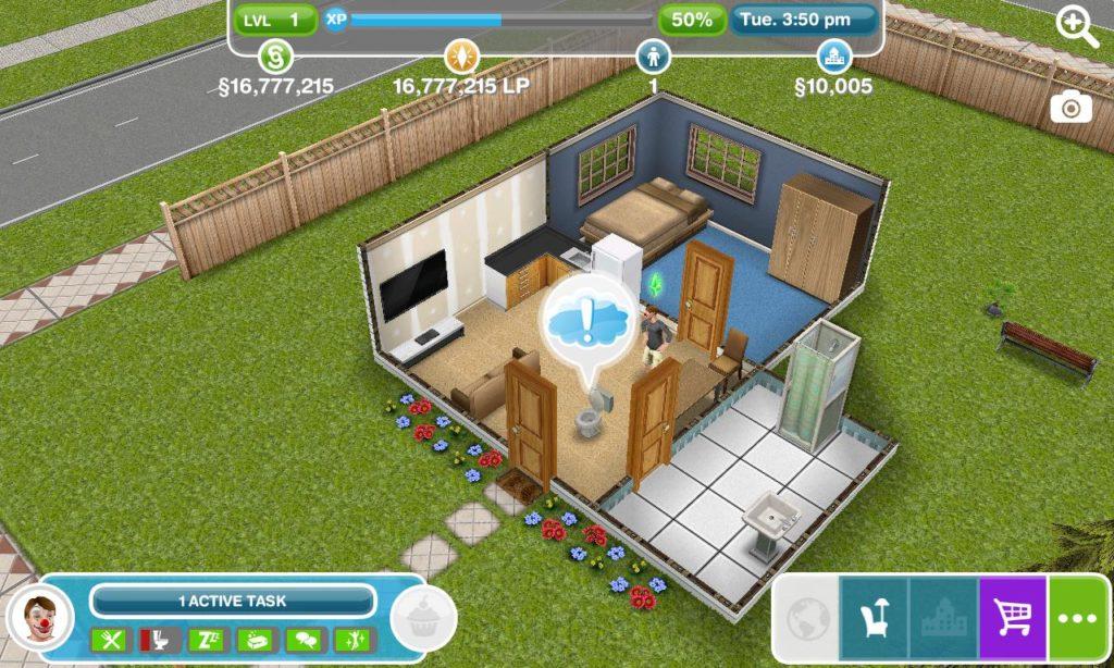 I trucchi per ottenere Simoleon infiniti su The Sims FreePlay