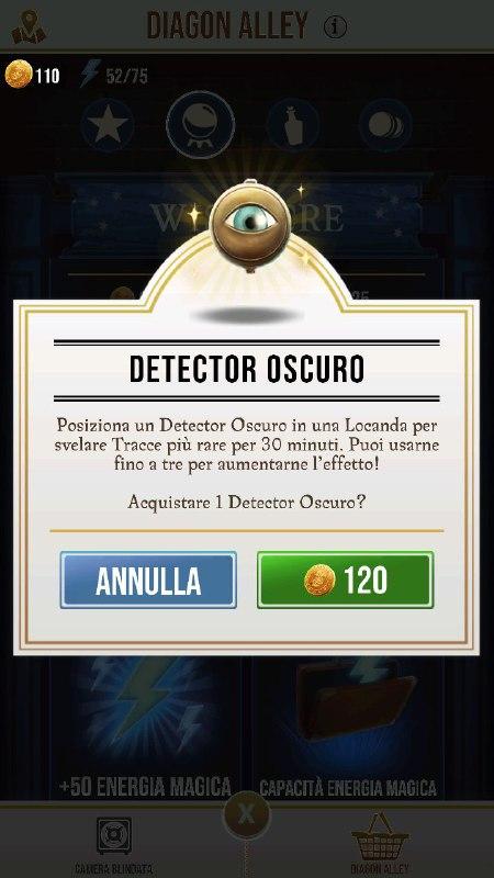 guida ai detector oscuri di wizards unite