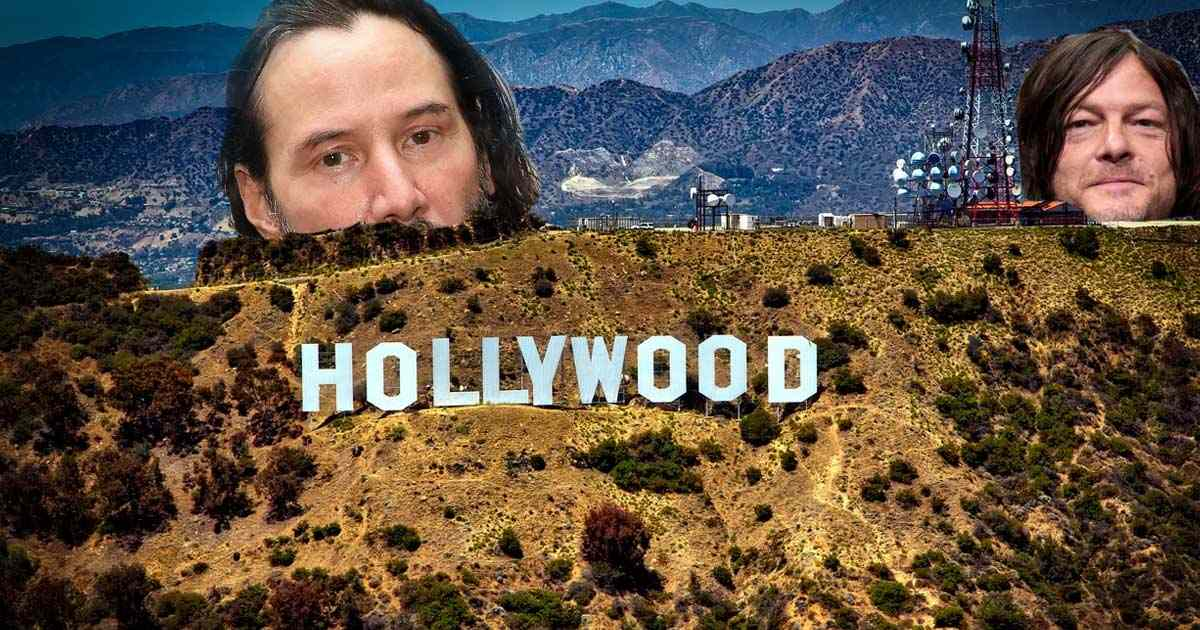 Copertina divi di Hollywood