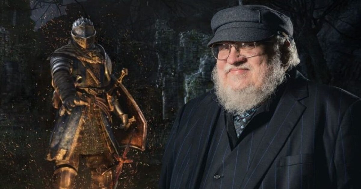 elden ring, george r.r. martin collabora con from software