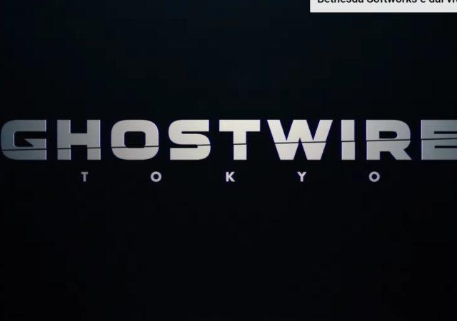 ghostwire tokyo e3 logo