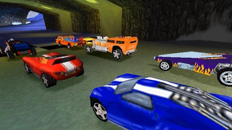 videogioco su licenza delle hot wheels